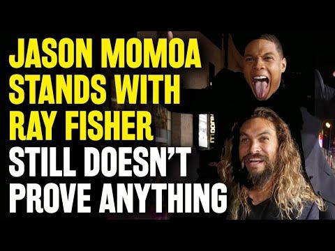 Jason Momoa backs Ray Fisher: 'Serious stuff went down' on ...