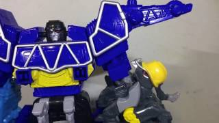Power Rangers Dino Super Charge: Spino charge ultrazord stop motion