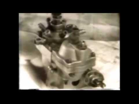 The C A V  distributor type DPA fuel injection pump - 1967 technical video