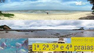 Primeira, Segunda, Terceira e Quarta praias de Morro de SP/BA