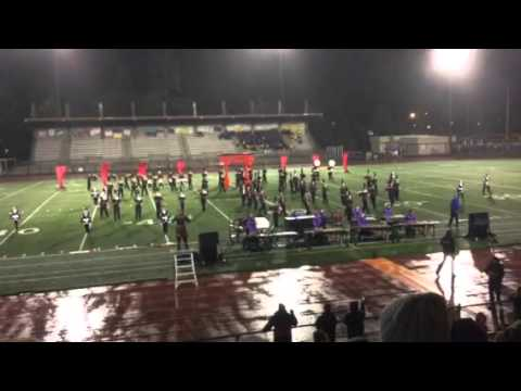 Cedarcrest High School Marching Band - Nov 7 2015