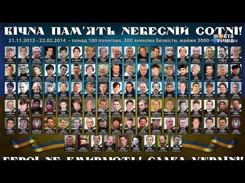 Жовта Річка: 20.02.2020 Вшанування пам'яті Героїв Небесної Сотні.