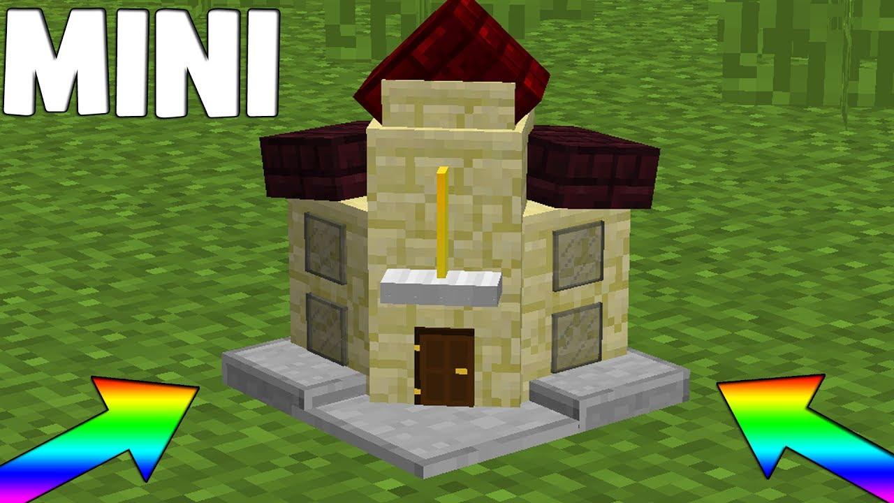 Le case pi piccole di minecraft assurdo youtube for Modelli di case piccole