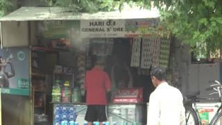 Selling fake Bisleri 20 Liter Water Bottles in HariOm General Store, Sector 21 Gurgaon