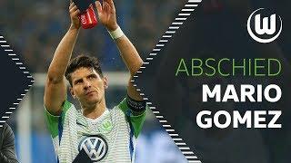 ..., Euer Mario   Abschiedsgruß von Mario Gomez   VfL Wolfsburg