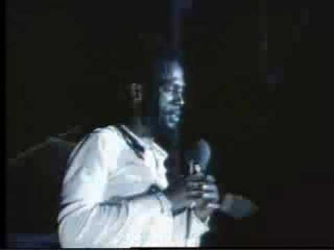 Gregory Isaacs  Night Nurse  at Reggae Sunsplash 1983