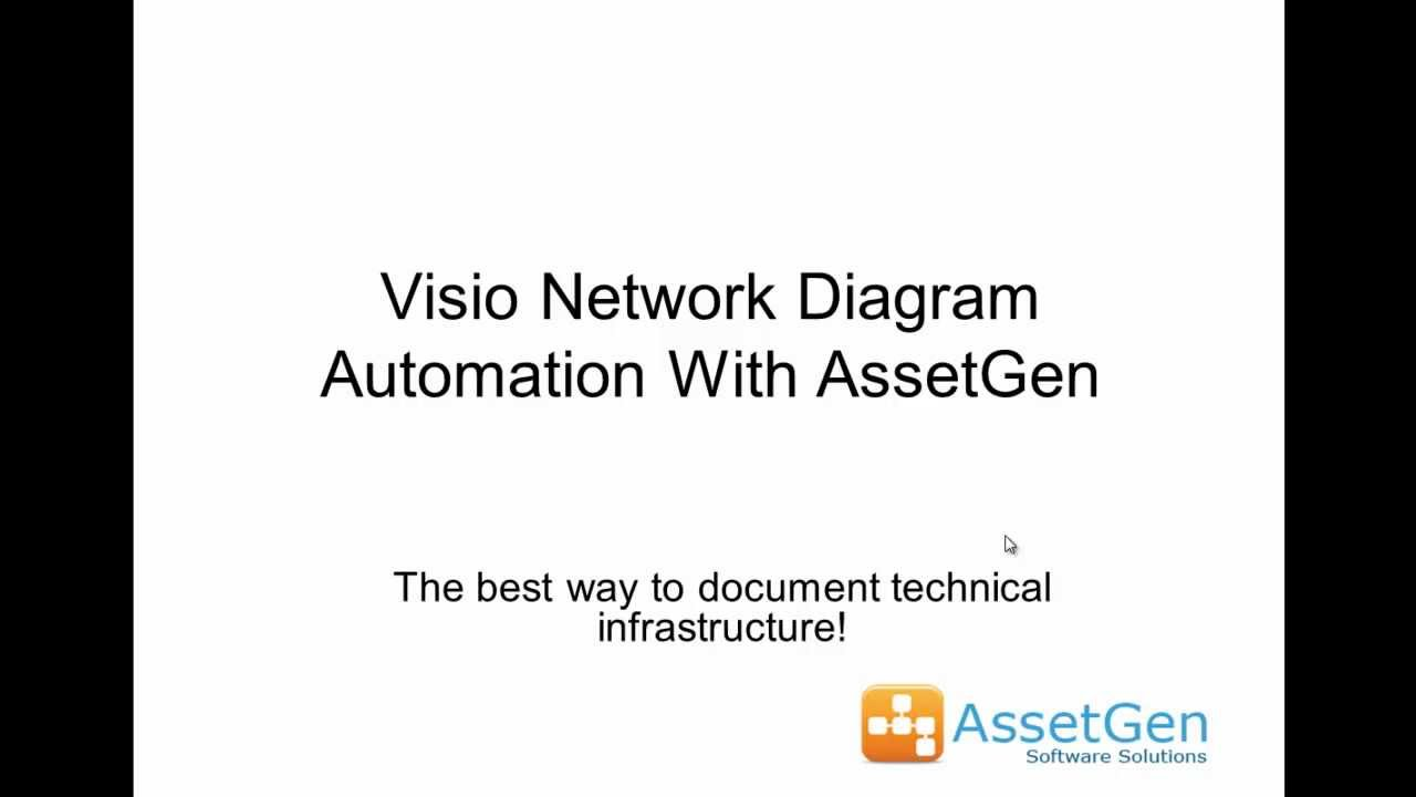 visio network diagram automation with assetgen   youtubevisio network diagram automation with assetgen