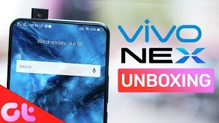 Vivo NEX Unboxing: Is this the FUTURE?