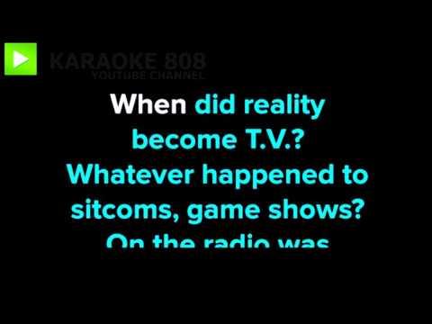 1985 ~ Bowling For Soup Karaoke Version ~ Karaoke 808