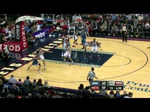 Ricky Rubio Vs New Jersey Nets 02-03-12 Highlights HD