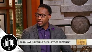 Tracy McGrady: 'Karl-Anthony Towns is playing soft' vs. Rockets | The Jump | ESPN