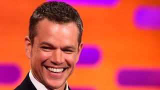 Jason Bourne fight scenes - The Graham Norton Show: Series 18 Episode 1 - BBC One