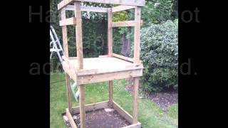 Build Your Own Wooden Tower And Slide