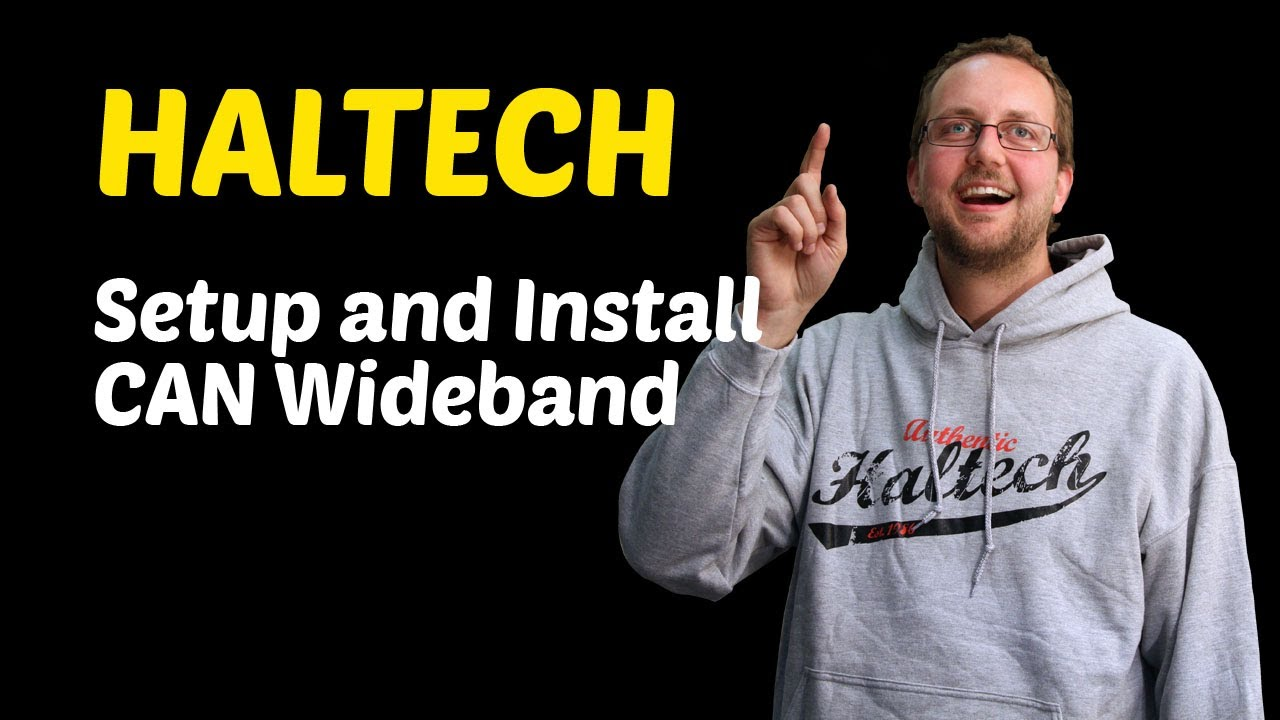 Haltech Diy  Installing And Setting Up A Can Wideband