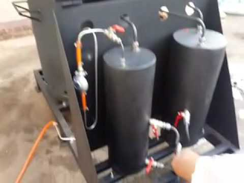 Plastic to Fuel (100kg batches into 60 to 80 litres of fuel)