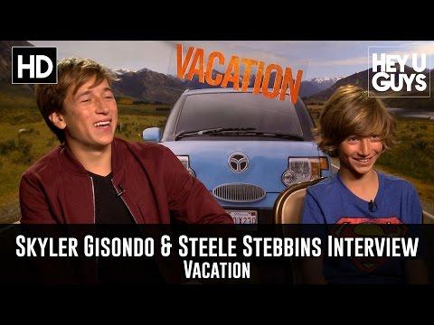 Skyler Gisondo & Steele Stebbins Exclusive   Vacation