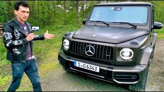 Стоит ли переплачивать за новый G 63?  Или G 500 не хуже?  Mercedes-Benz.  AMG.  G-Class.