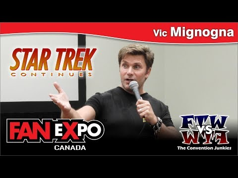 Vic Mignogna (Star Trek Continues) FAN eXpo Canada 2017 Q&A Panel