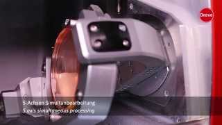 Dreve OtoCam 5 M2 - Milling machine for earmolds - HD(CNC Fräsmaschine zur digitalen subtraktiven Fertigung von thermoplastischen VarioTherm® Otoplastiken und RICs. CNC milling machine for digital subtractive ..., 2014-10-22T09:59:15.000Z)