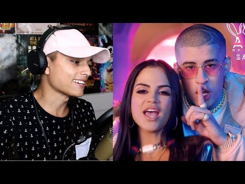 [Reaccion] Natti Natasha ❌ Bad Bunny - Amantes De Una Noche 👩🏻 🌹🐰 [Official Video]