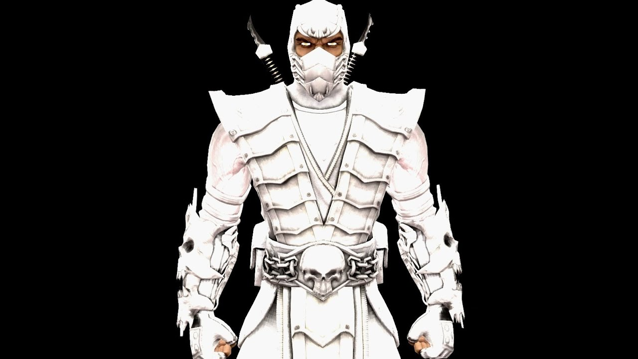 Scorpion Mortal Kombat Hd Wallpaper Mortal Kombat Komplete Pc Mods White Ninja Scorpion Test