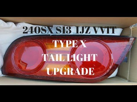 [QNCB_7524]  240SX S13 1JZ VVTI - KOUKI 180SX TYPE X TAIL LIGHT UPGRADE - YouTube | 240sx Brake Light Wiring Diagram |  | YouTube
