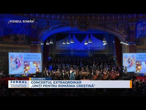 """Concertul extraordinar """"Uniți pentru România creștină"""""""