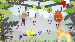 Мультфильмы для детей Учим цифры Учим английский  Английский язык для малышей