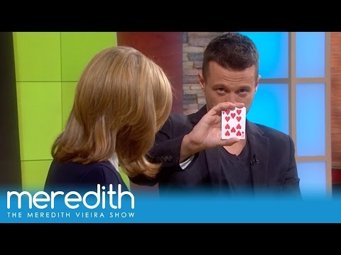 Magician Mat Franco Wows The Audience! | The Meredith Vieira Show