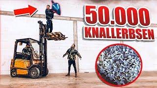 50.000 KNALLERBSEN zu EINER !