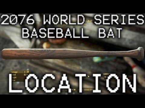 Fallout 4 2076 World Series Baseball Bat Location in Jamaica Plain