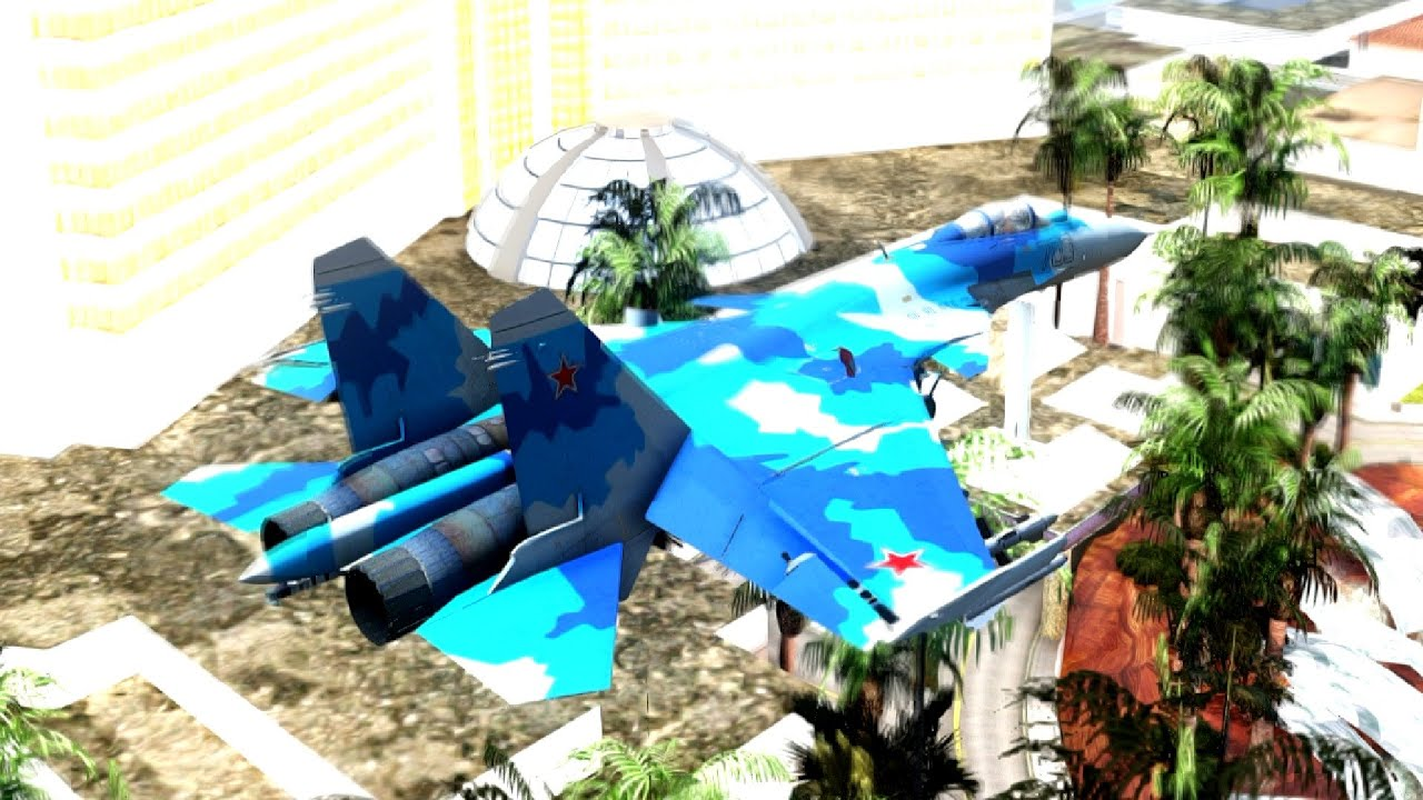 Loading su 33 flanker d carrier based fighter jet su 27 - Su 33 Flanker D Blue Camo 30 New Planes To Gta San Andreas Enb
