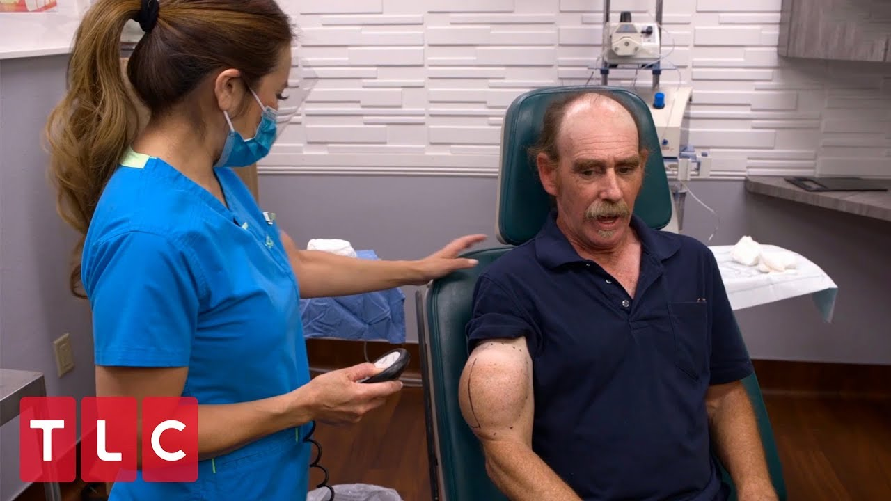 Chuck Has A Popeye Shaped Bump On His Arm Dr Pimple Popper