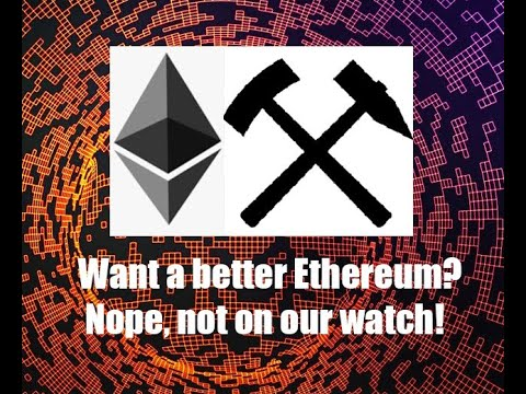 Ethereum's Evil Miners block any hope of relieving congestion on ETH. Yep, its screwed