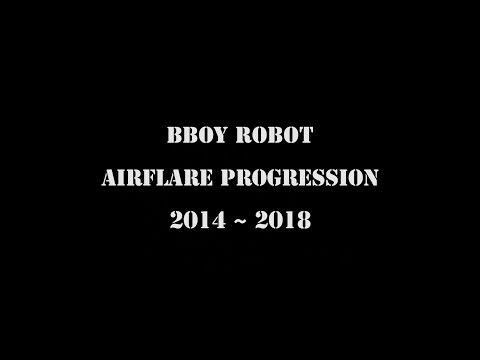 [Airflare Progression] B-boy Robot From Korea