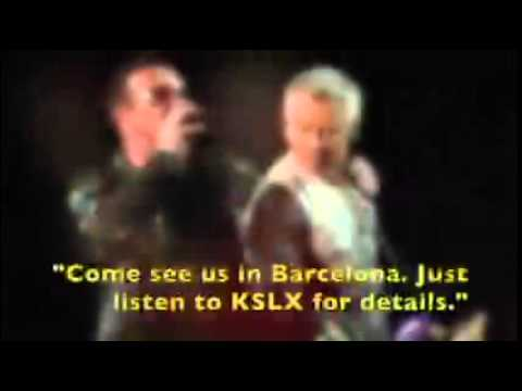U2 Explains KSLX Classic Rock Fly Away