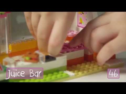 "LEGO® Building with Friends - ""How To"" Heartlake Juice Bar"