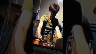 リハ風景 未公開映像 98.5 楽しそうに笑い、ギター弾いてる昭次.