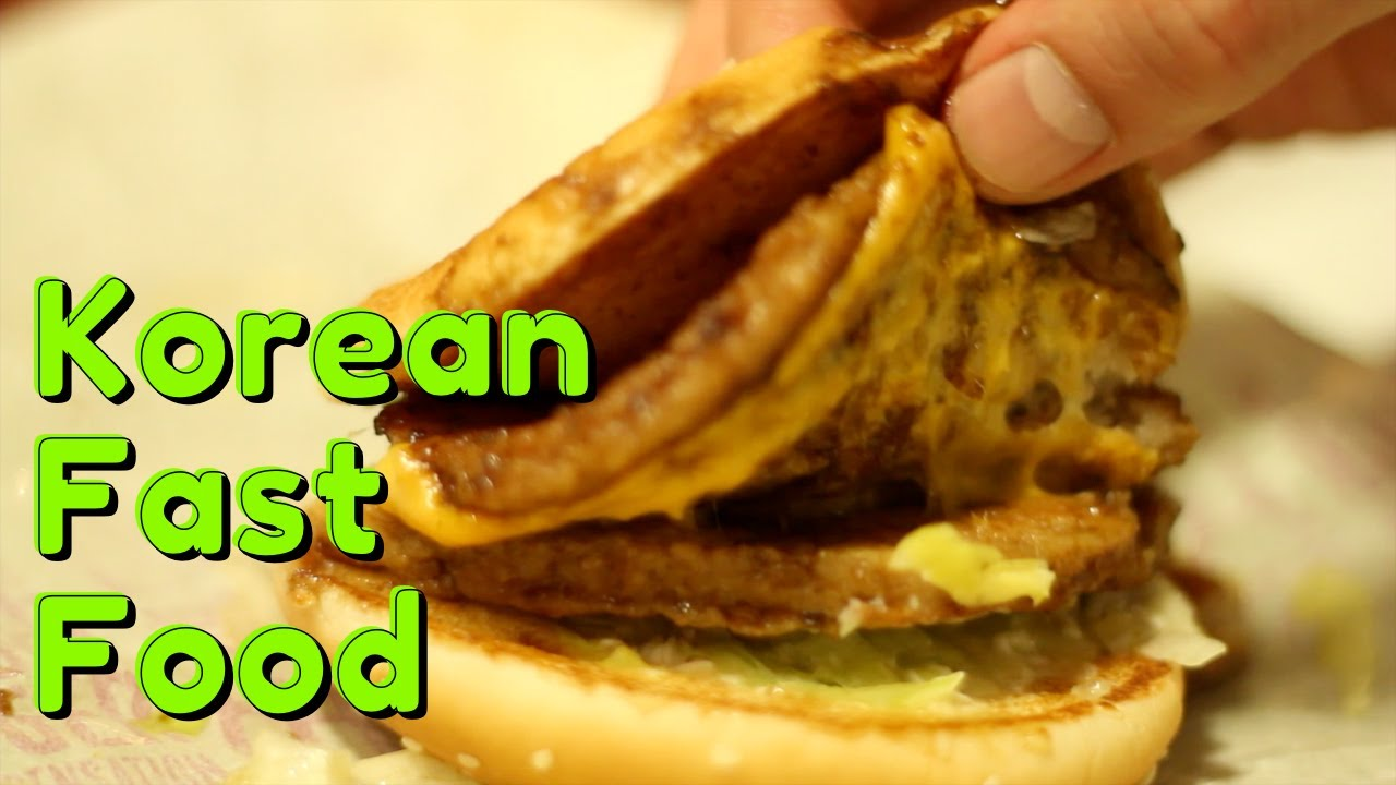 fast food in korea Best and worst korean foods these sauces can quickly turn an otherwise healthful dish into the nutritional equivalent of a fast food meal korean food is also.