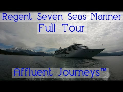 Regent Seven Seas Mariner Full Tour