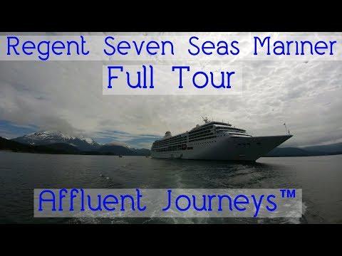 Regent Seven Seas Mariner Full Tour