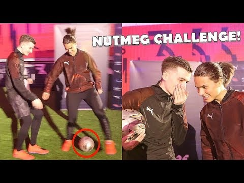 CAN I NUTMEG the WORLDS MOST SKILLFUL WOMENS FOOTBALLER !? (Dzsenifer Marozsan)