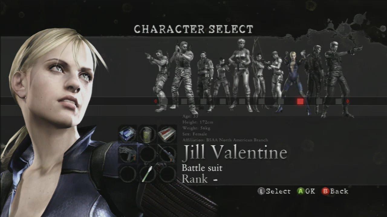 Resident Evil 5 Melee Moves Hq Jill Valentine