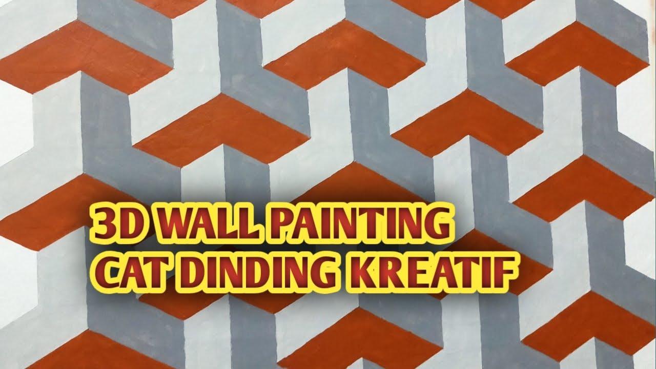 031 Cat Dinding Kreatif Wall Painting Design Ideas Wall Painting Decoration 3d Wall Painting Youtube