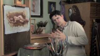 Robert Liberace: Painting the Figure in Grisaille, Excerpts