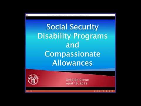 Understanding SSA Compassionate Allowance For CDM
