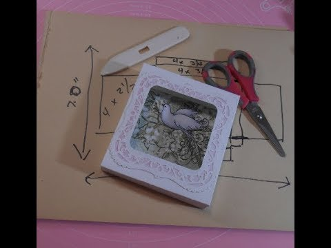 Designing & Making a Shadowbox for Mother's Day Card