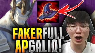 Faker is Ready to Play FULL AP Galio! - SKT T1 Faker SoloQ Playing Galio Mid! | SKT T1 Replays