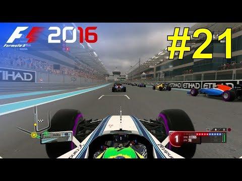 F1 2016 - Let's Make Massa World Champion #21 - 100% Race 'Abu Dhabi'