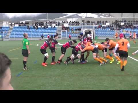 Replay Rugby Cadets Gauderman RCT Toulon vs Narbonne Métropole Match Championnat de France  2017